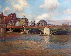 Donald Henry Floyd - Newport Bridge during Con..