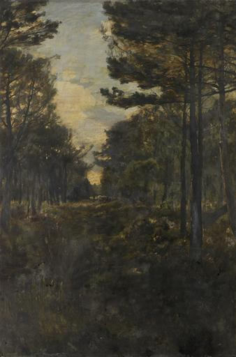 CHEMIN SOUS BOIS by Alfred Philippe Roll (1846-1919, France) | Museum Quality Copies Alfred Philippe Roll | ArtsDot.com