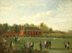 James Howe Carse - Opening Game of the Oldha..