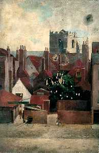 Walter Harvey Brook - The Tower at Holy Trinity Priory, York