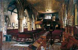 Walter Harvey Brook - Interior, Holy Trinity Priory, York