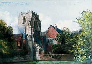 Walter Harvey Brook - The Tower, Holy Trinity Priory, York