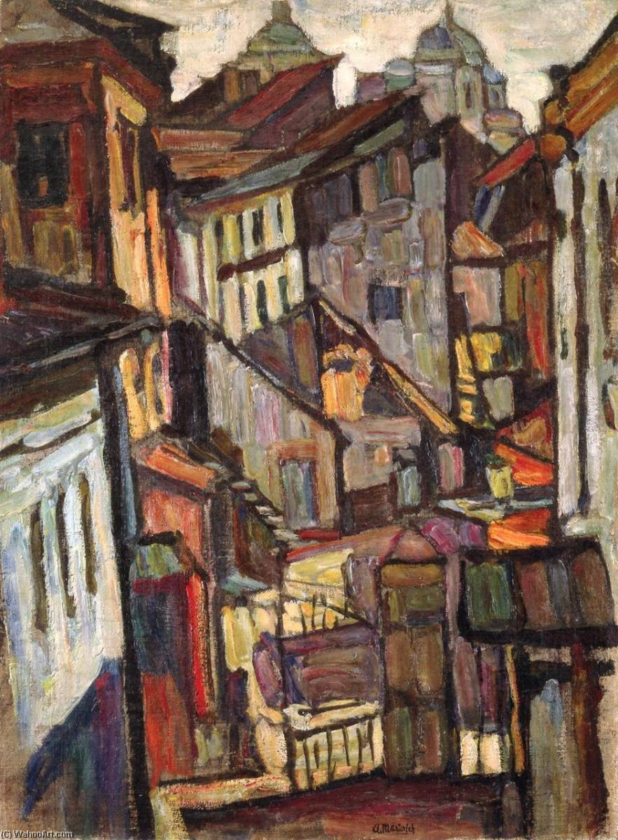 Order Reproductions | Moscow III, 1916 by Abraham Manievich | ArtsDot.com