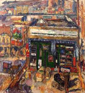 Abraham Manievich - From the Artist-s Window, Stores