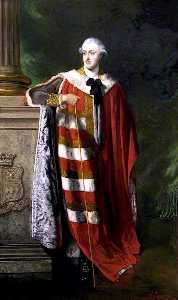 Louis William Desanges - George, 4th Duke of Manch..