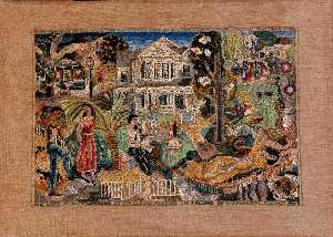 Marguerite Zorach - My Home in Fresno around the Year 1900