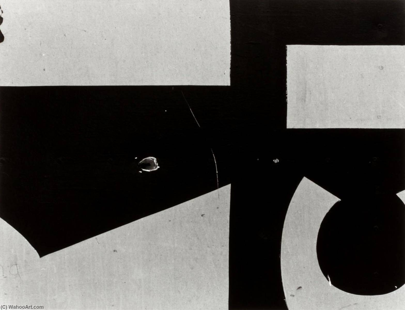 Chicago 16, 1957 by Aaron Siskind (1903-1991, United States) | Museum Quality Reproductions | ArtsDot.com