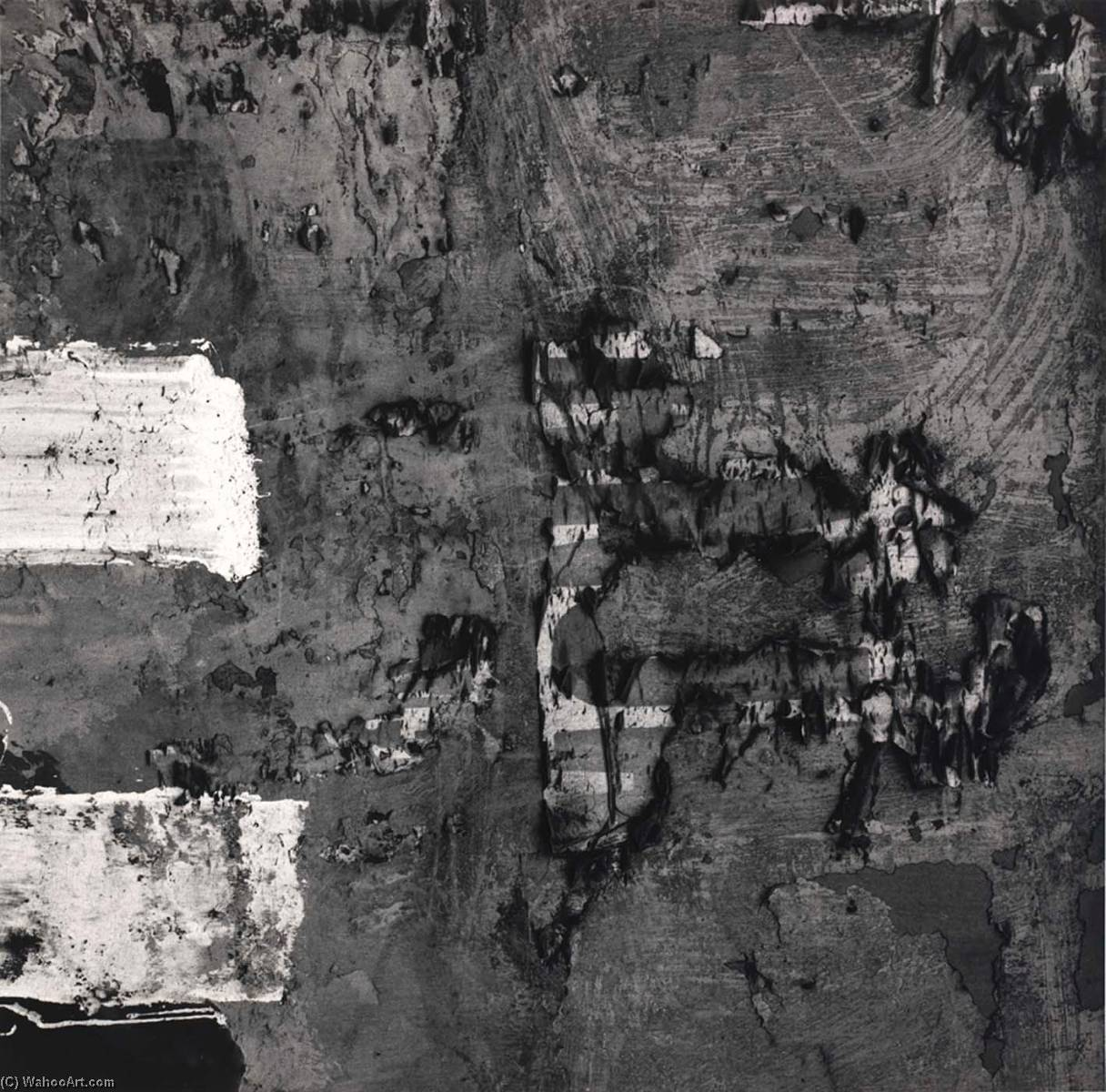 Lima 137, 1980 by Aaron Siskind (1903-1991, United States) | Painting Copy | ArtsDot.com