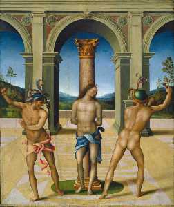 Il Bacchiacca - The Flagellation of Christ
