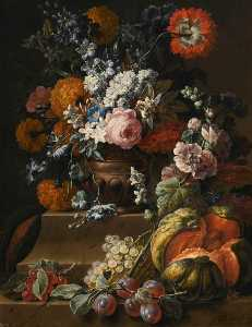 Gaspar Peeter The Younger.. - Still Life