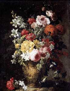 Gaspar Peeter The Younger.. - Flower Piece