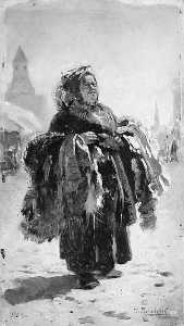 Vladimir Yegorovich Makovsky - The Peddler