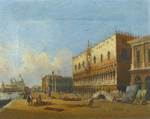 Carlo Grubacs - View of the Doge's Palace..