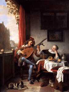 Hendrik Martensz Sorgh - The Lute Player