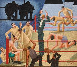 William Roberts - The Boxing Match