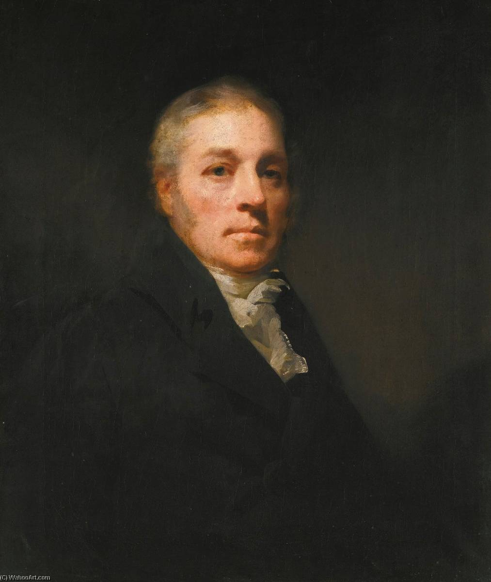 Portrait of Maurice Carmichael of Eastend, Lanarkshire by Henry Raeburn (1756-1823, United Kingdom) | Art Reproduction | ArtsDot.com
