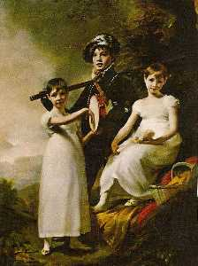 Henry Raeburn - The Elphinstone Children