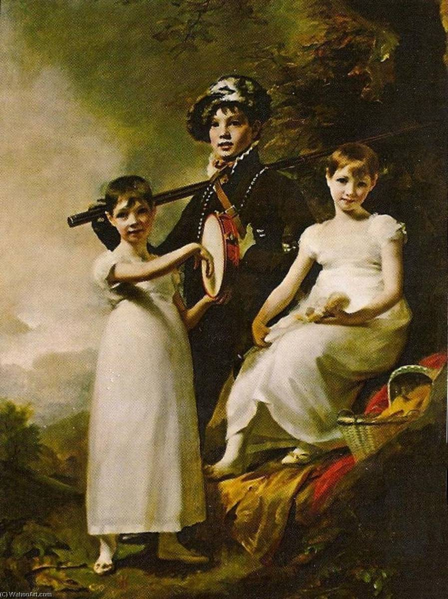 The Elphinstone Children by Henry Raeburn (1756-1823, United Kingdom) | Museum Quality Reproductions | ArtsDot.com