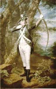 Henry Raeburn - Dr Nathaniel Spens in the uniform of the Royal Company of Archers