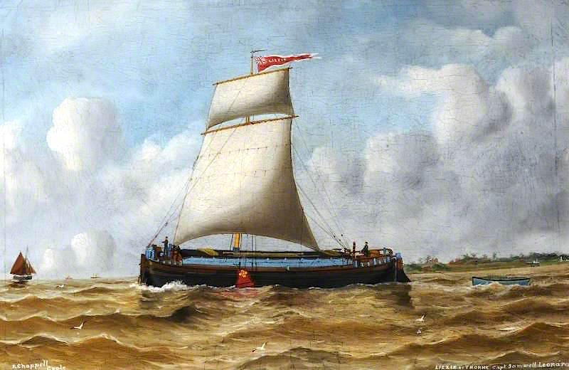 The Keel `Lizzie` of Thorne by Ruben Chappell | Reproductions Ruben Chappell | ArtsDot.com
