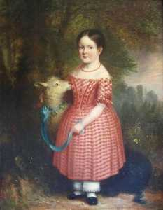 Abel Hold - Girl with a Lamb