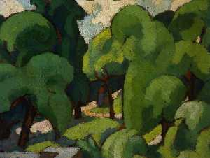 Margaret Morris - Trees in Carlyle Square