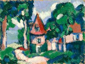 Margaret Morris - House with a Turret
