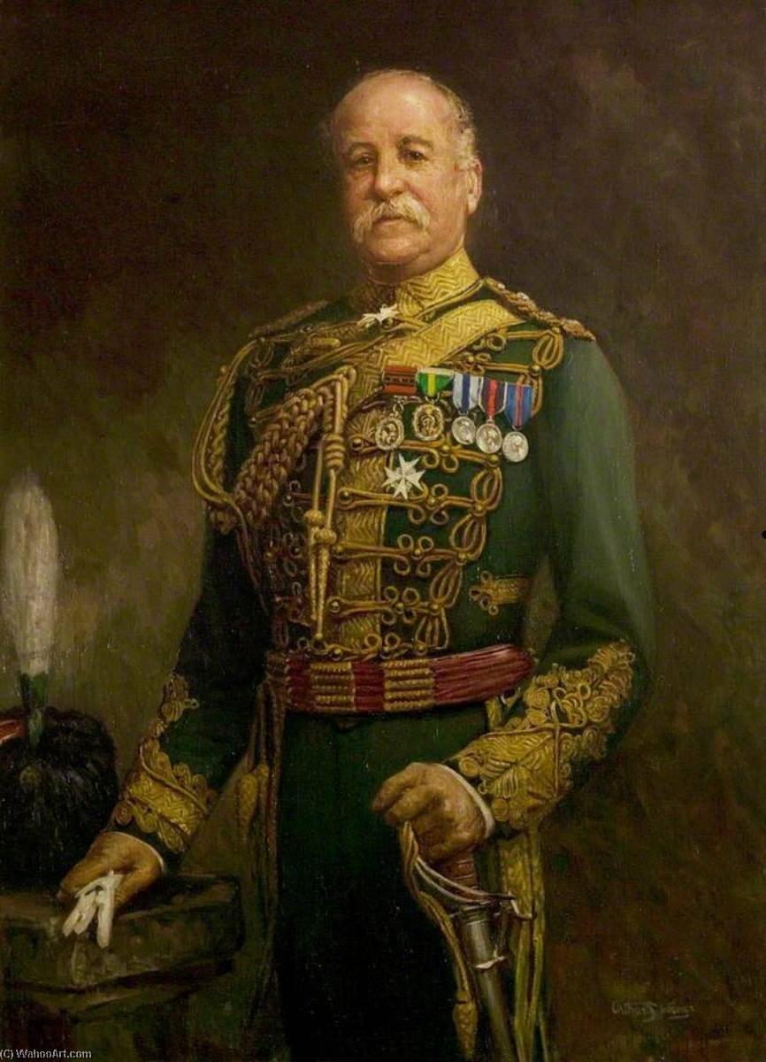 The Right Honourable Viscount Galway, CB, Chairman of the County Council (1914–1928) by Arthur Spooner | Museum Art Reproductions Arthur Spooner | ArtsDot.com