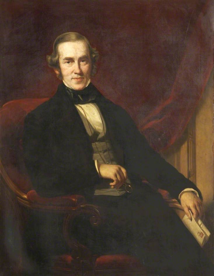 Buy Museum Art Reproductions | Thomas Berry Horsfall (1805–1878), MP, 1853 by George Patten | ArtsDot.com