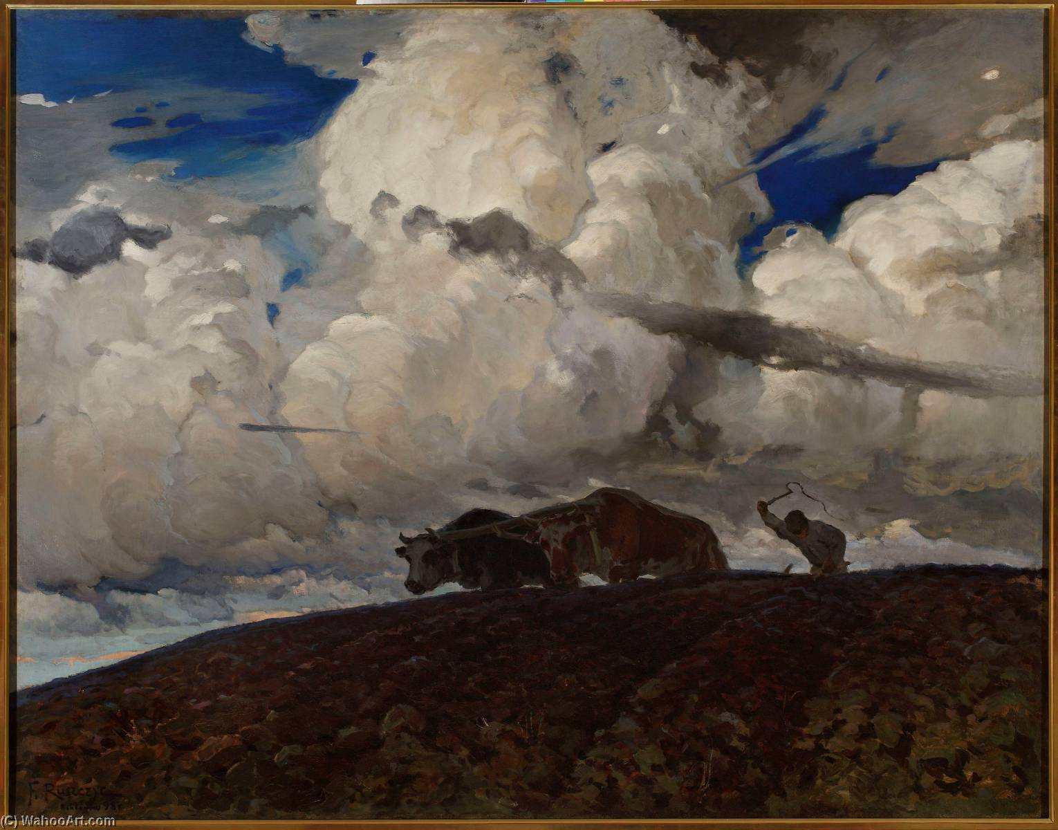 The Soil, 1898 by Ferdynand Ruszczyc (1870-1936) | Oil Painting | ArtsDot.com