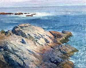 Horace G Hewes - (Maine Coastline from Roc..