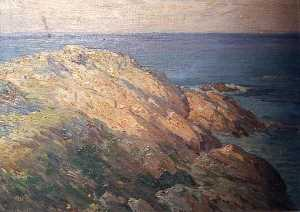 Horace G Hewes - (Maine Coastline Rocks, S..
