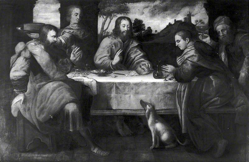 The Supper at Emmaus, 1636 by John Carleton Wiggins | Museum Art Reproductions John Carleton Wiggins | ArtsDot.com