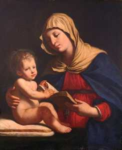 Benedetto Gennari The Younger - Virgin and Child