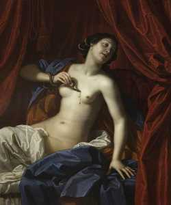 Benedetto Gennari The Younger - The Death of Cleopatra