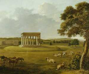 William Tomkins - Audley End and the Temple..