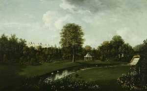 William Tomkins - Audley End, View from the..