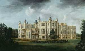 William Tomkins - Audley End from the South..