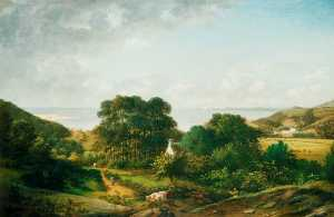 William Tomkins - View in the South West of..