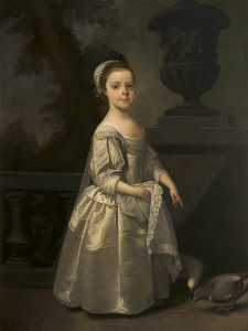 Henry Pickering - Reputedly Hester Egerton (1708–1780), Later Mrs William Tatton (really Frances Maria Fountayne, c.1751–1777, later Mrs William Tatton Egerton , as a Child)