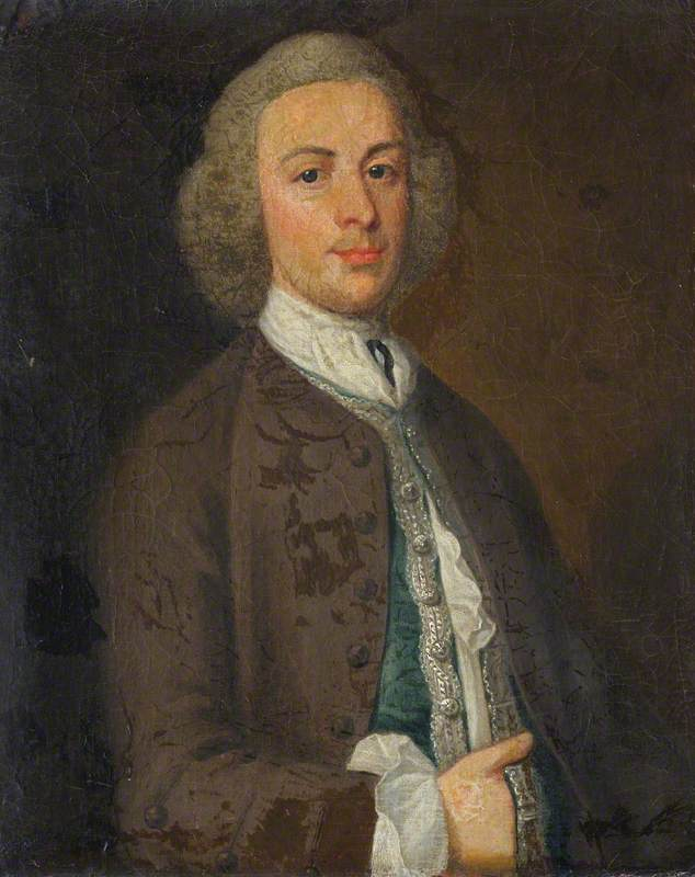 Sir Jacob Downing (d.1764), 4th Bt by Henry Pickering | Art Reproduction | ArtsDot.com