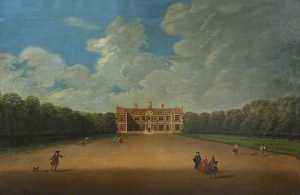 Nicholas Thomas Dall - Sudbury Hall from the Nor..