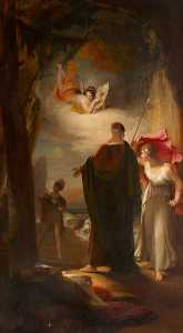 Henry Thomson - Prospero and Miranda (fro..