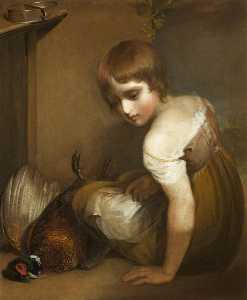 Henry Thomson - A Girl Deploring the Deat..