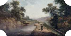 Joseph Sheldon - Swing Bridge, Bathampton,..