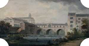 Joseph Sheldon - Pulteney Bridge, Weirs an..