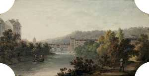 Joseph Sheldon - Pulteney Bridge and Weir,..