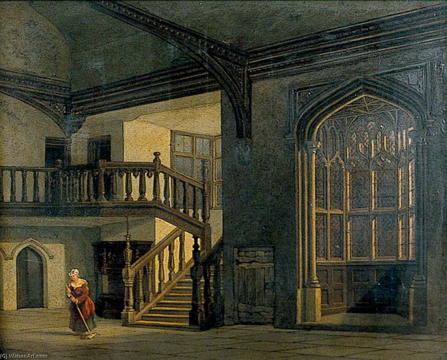 Interior of Strangers` Hall, Norwich by Henry Ninham | Art Reproduction | ArtsDot.com