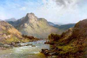 Alfred De Breanski Senior - Glengarry, Scottish Highlands
