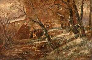 John Joseph Hughes - View of Hamstead Mill, Ha..